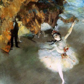 Edgar Degas The Star