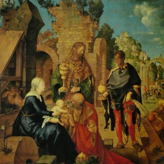 Albrecht Dürer The Adoration of the Magi