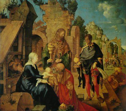 Albrecht Dürer The Adoration of the Magi