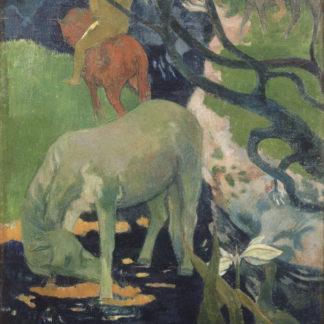 Paul Gauguin The White Horse