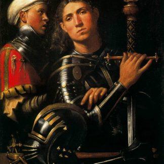 Giorgione Captain with equerry (Portrait of Gattamelata)