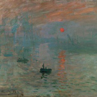 Claude Monet Impression: Sunrise