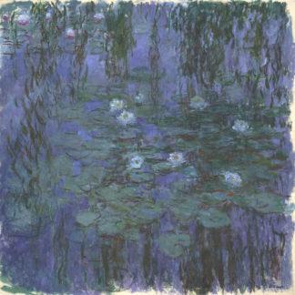 Claude Monet Blue Waterlilies