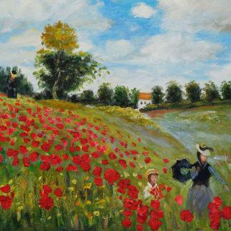 Claude Monet Poppies