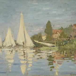 Claude Monet Argenteuil Regatta