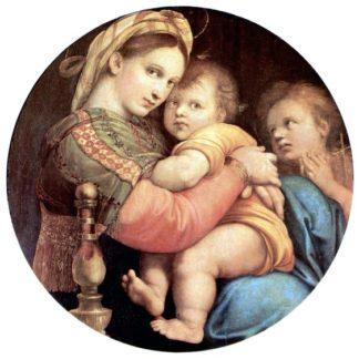 Raffaello Sanzio Madonna of the Chair