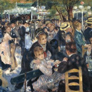 Pierre Auguste Renoir Le bal du Moulin de la Galette