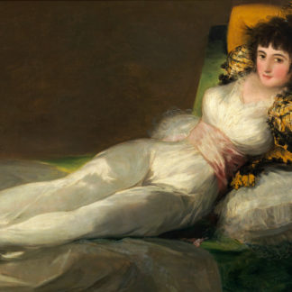 Francisco Goya Clothed Maja