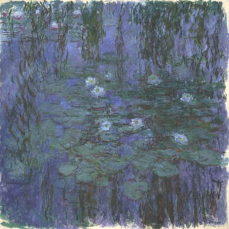 Claude Monet Blue Waterlilies