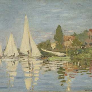Claude Monet Argenteuil Regatta
