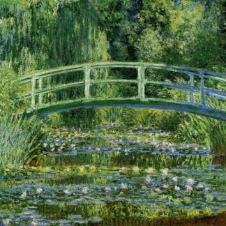 Claude Monet Pond with Waterlilies