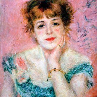 Pierre Auguste Renoir Portrait of Madame Jeanne Samary
