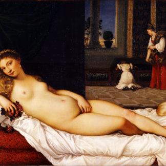 Tiziano The Urbino Venus
