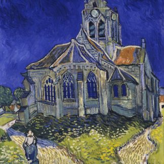 Vincent Van Gogh The Church of Auvers-Sur-Oise